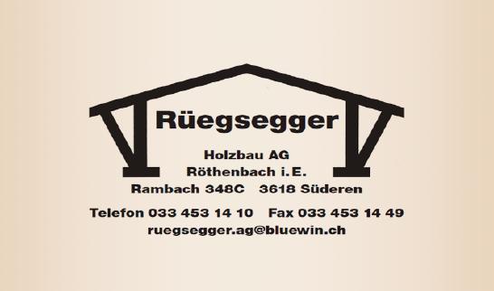 Rüegsegger Holzbau AG
